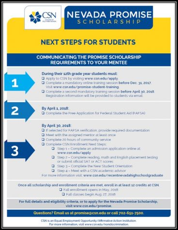 Nevada Promise Scholarship
