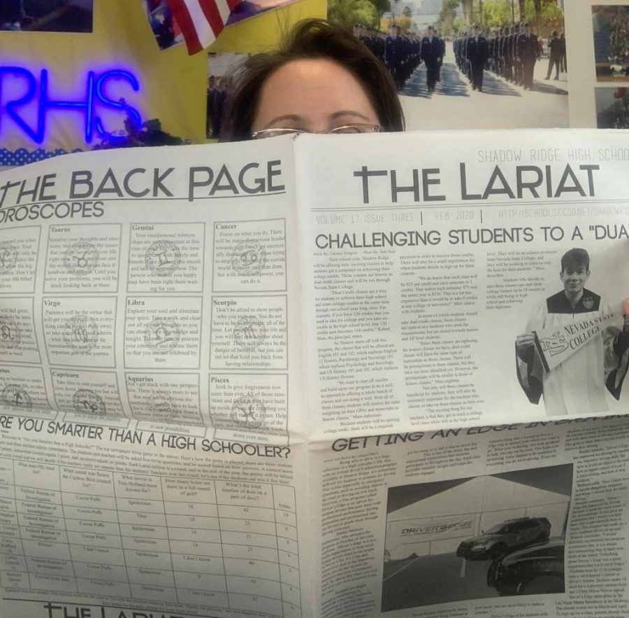 Readers grab The Lariat the moment it arrives