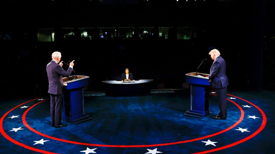 President+Donald+Trump+and+former+Vice+President+Joe+Biden+face+off+in+the+final+debate.
