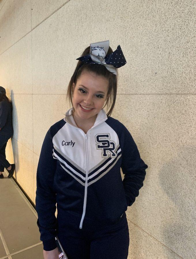 Senior Carly Houser