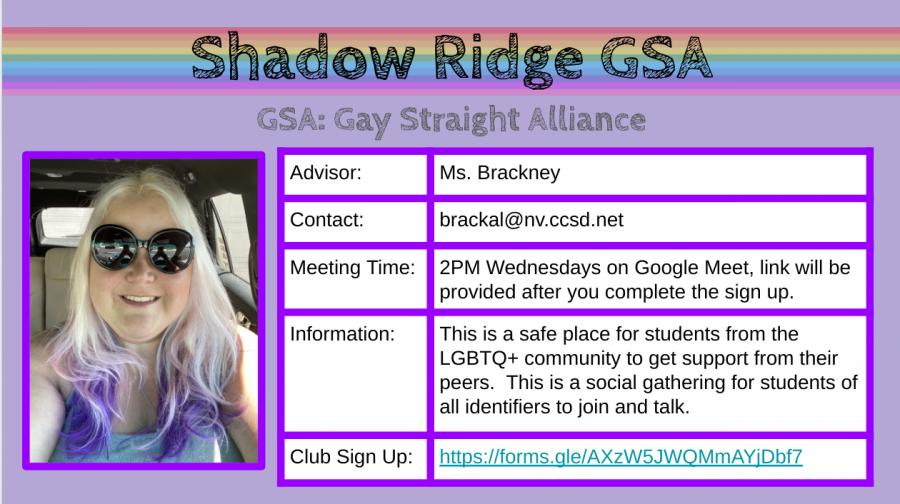 GSA Club Summary