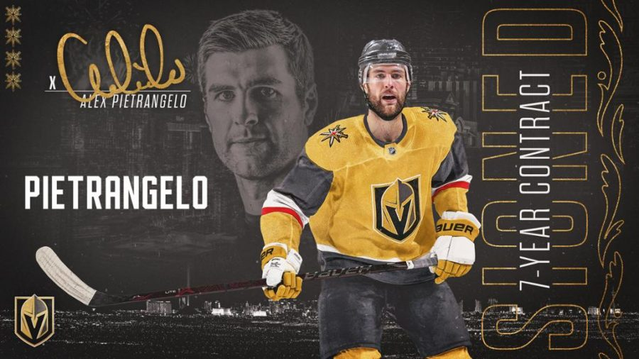 Alex Pietrangelo signs with the Golden Knights
