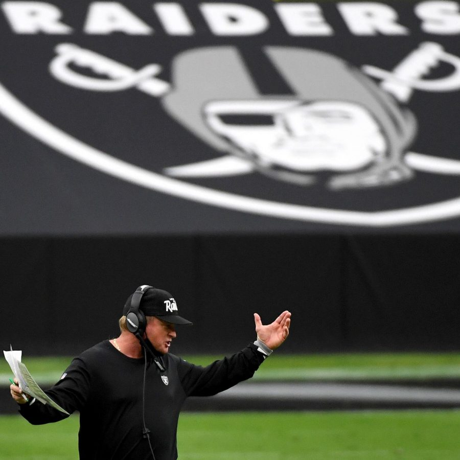 Raiders face-MASK-ing problems