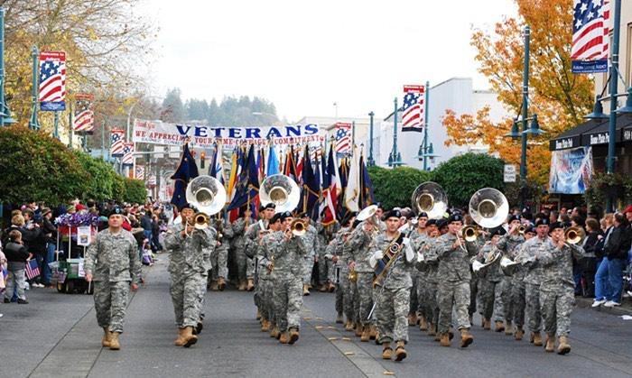 A Veterans Day Parade