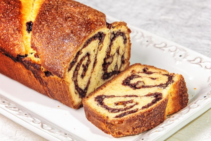 A traditional sweet bread  made every Christmas and Easter