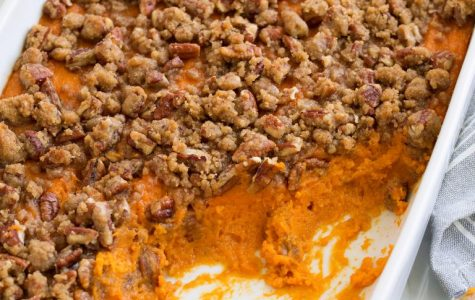 "Mrs. Pisciotta's ""Sweet Potato Casserole"""