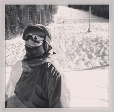 Professional snowboarder, Keith Pfahler
