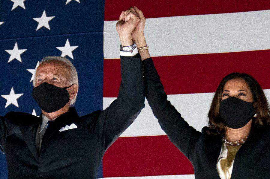 President Elect Joe Biden and Vice-President Elect Kamala Harris after winning Election