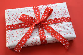 Giving presents is even more than getting presents