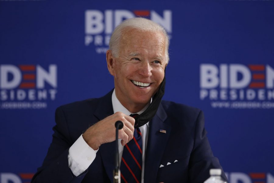 Joe+Biden+speaking+at+a+press+conference.