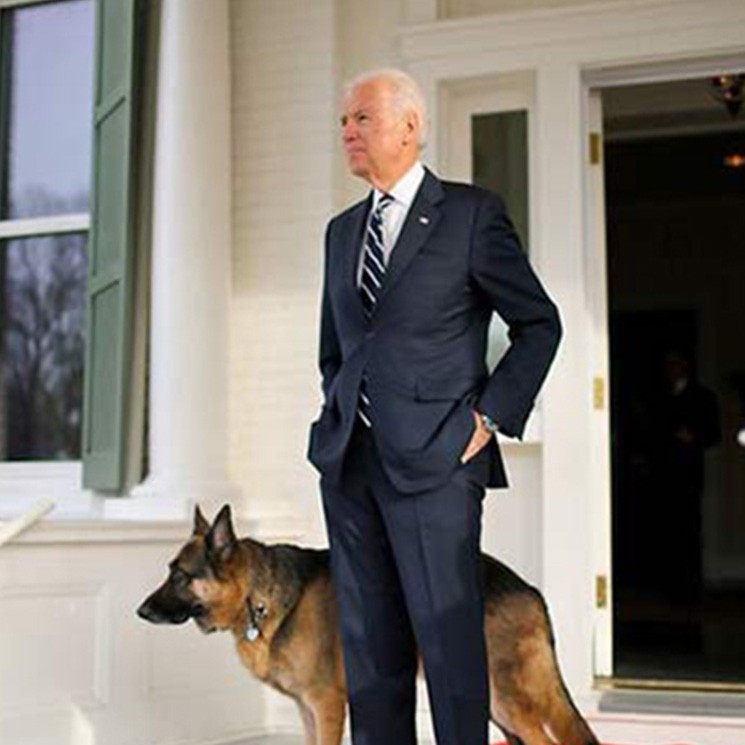 Joe+Biden+and+his+rescue+dog%2C+Major