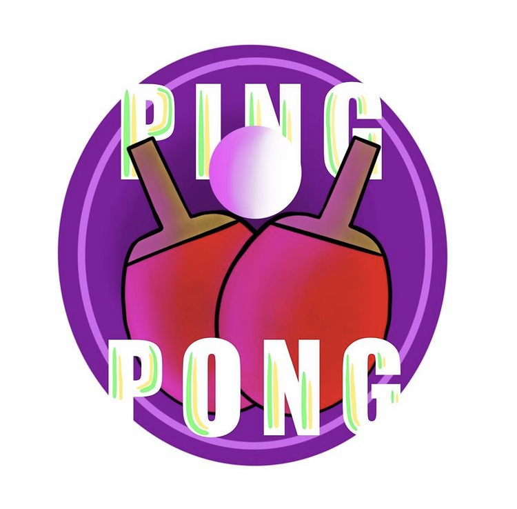 This logo was created for the Ping Pong Club by Sydney Stewart.