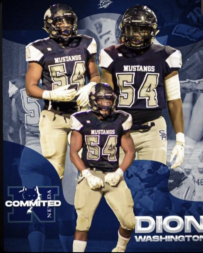 Senior, Dion Washington, commits to UNR