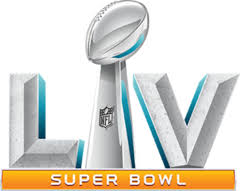 Super Bowl LV will occur on Sunday, February 7th at 3:30 PST.