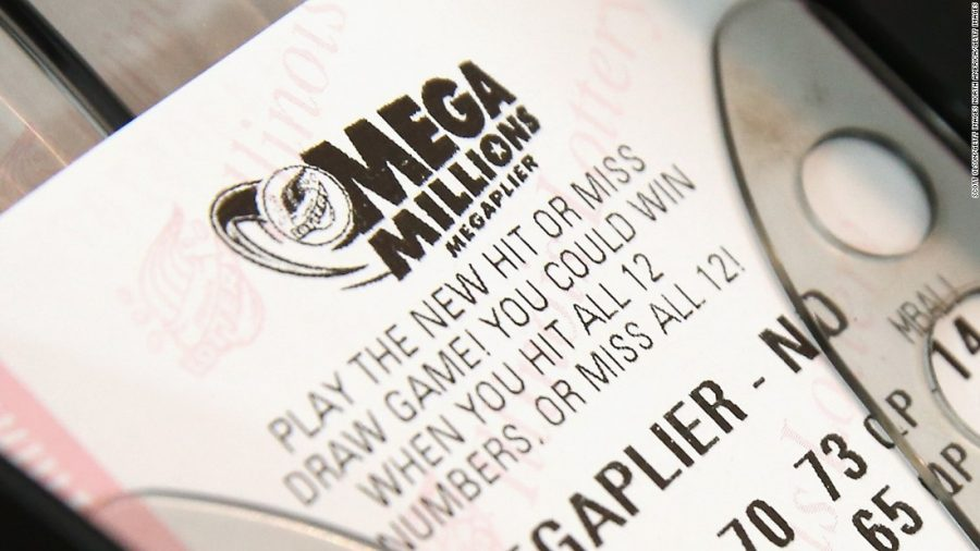 People hope to 'win big' when playing the lottery.
