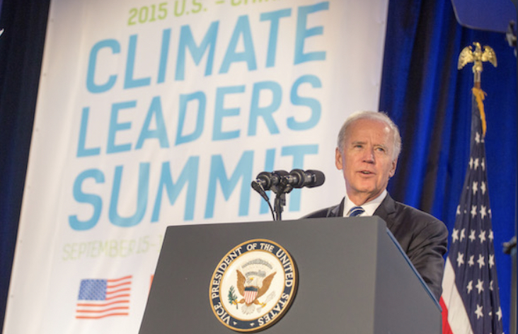 Joe Biden at the Climate Leaders Summit