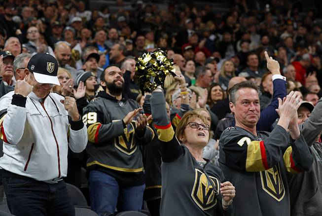 Golden+Knights+Fans