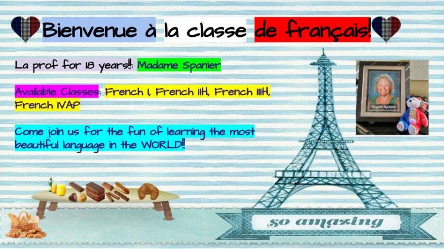 French I, IIH, IIIH, IVAP