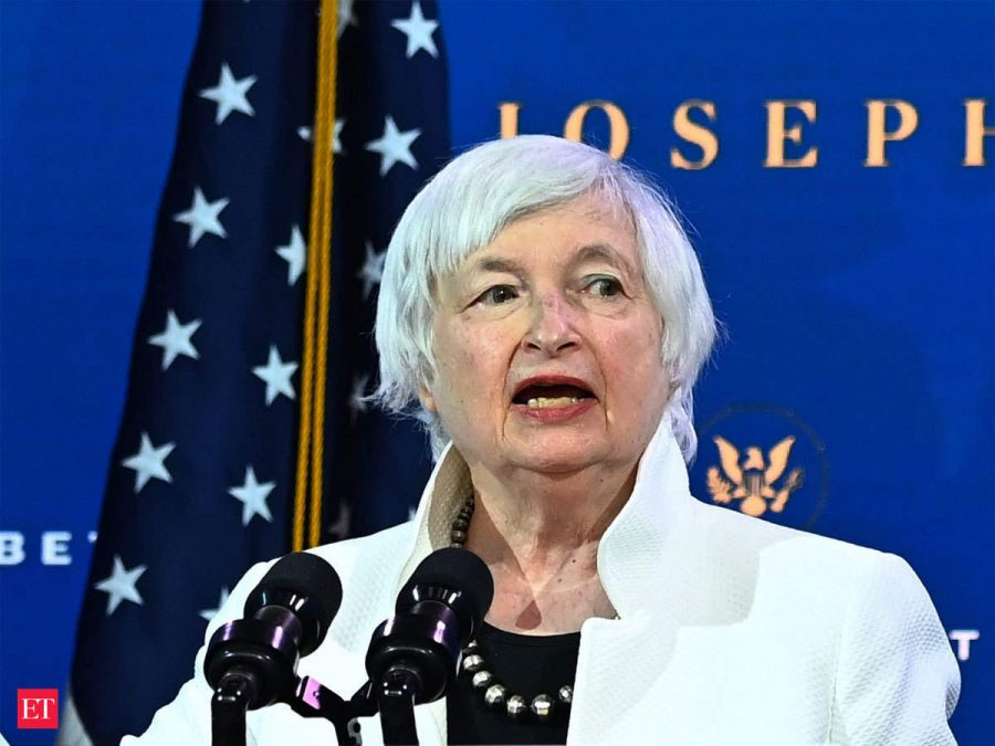 Jane Yellen at her confirmation hearing.