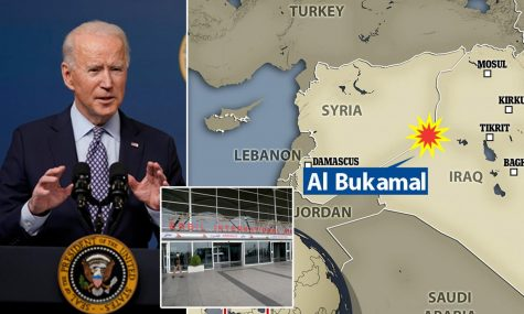 Region where Biden ordered the airstrikes.