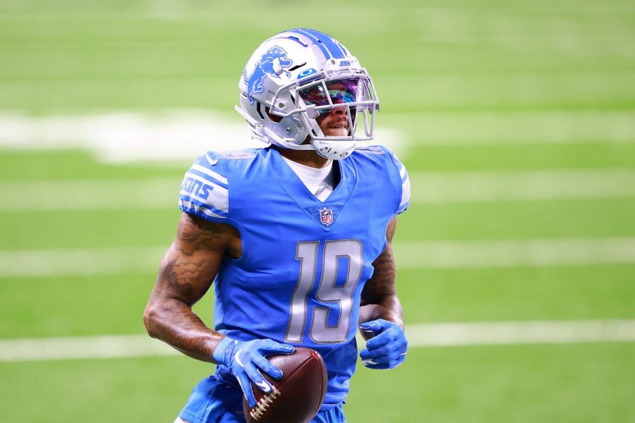 Lions wide receiver, Kenny Golladay, signs with the New York Giants