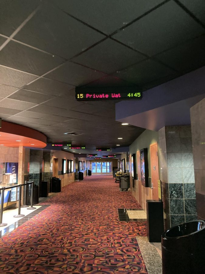 Movie theaters have turned to private watch parties as a solution to low movie theater attendance during the pandemic.
