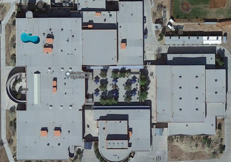 The pool on the roof as seen after decryption of the Google Maps censor