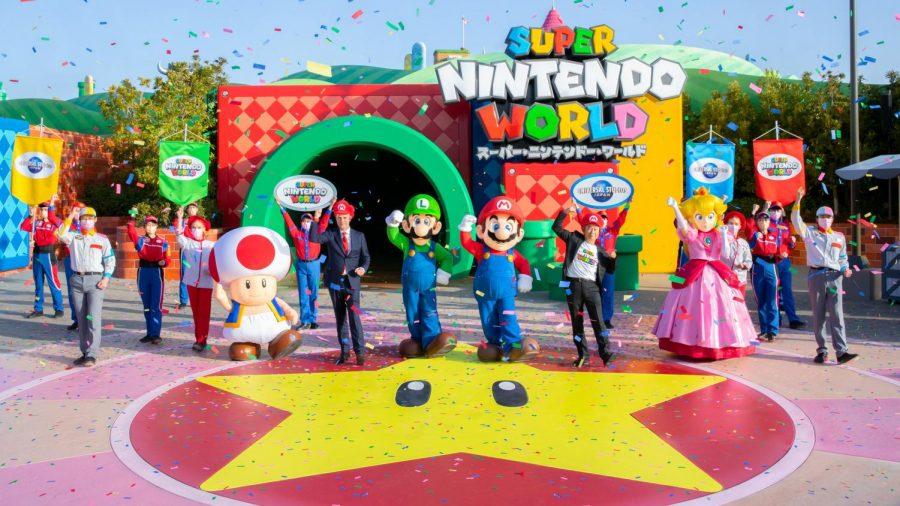 Super Nintendo Land Grand Opening