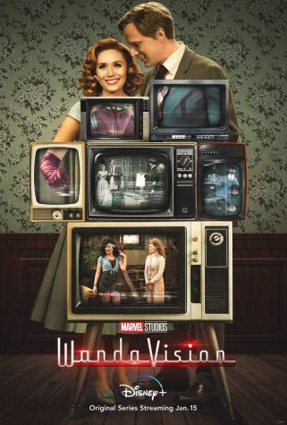 "Poster of the Disney+ series ""WandaVision"""