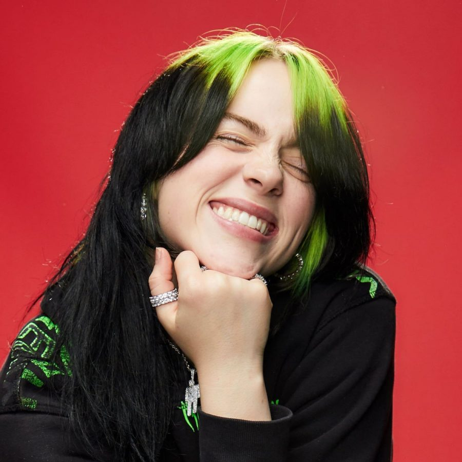 Singer-songwriter Billie Eilish
