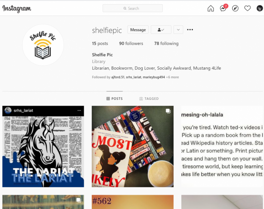 SRHS+Library+is+on+Instagram