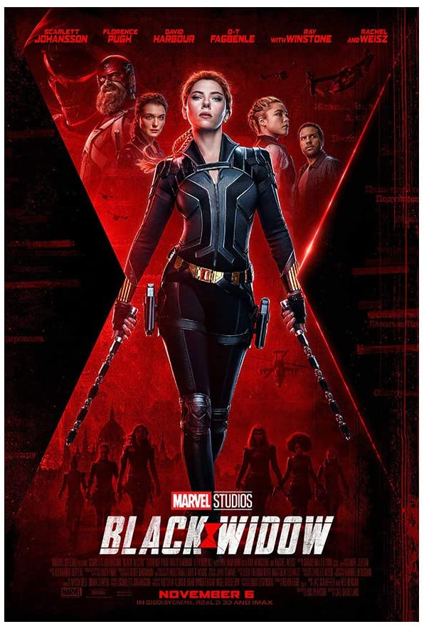 The Black Widow movie will finally be released on July 9th after being postponed so many times.