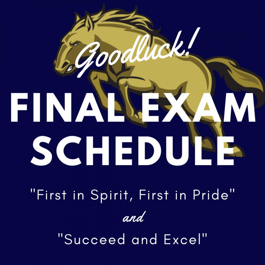 Final Exam Schedule