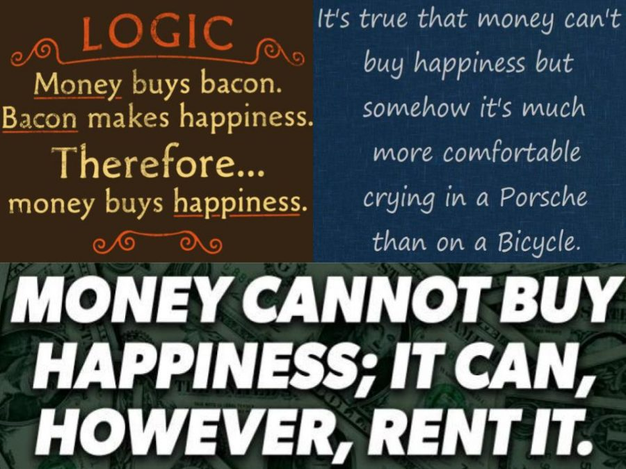 Money can indeed buy happiness because what you buy causes you to be happy.