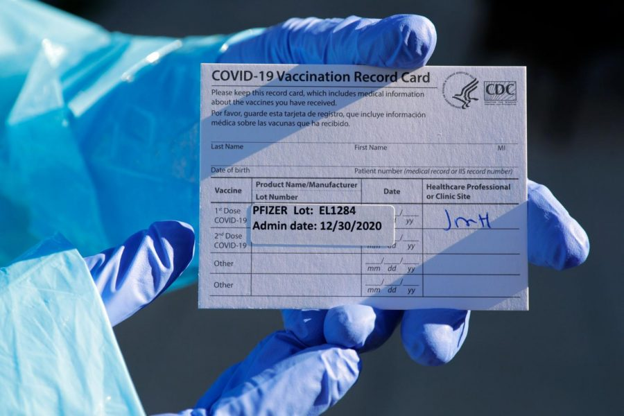 Record of Vaccination Card