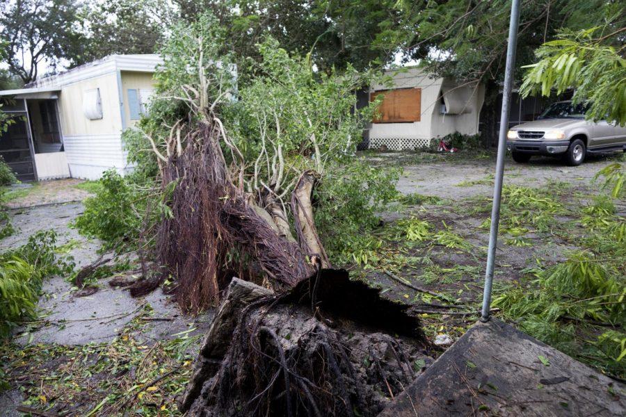 Hurricane Matthew's destruction of communities.