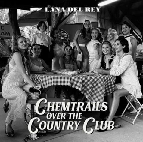 "The poster for the album ""Chemtrails over the Country Club."""