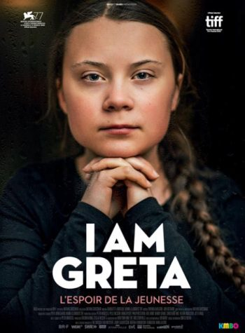 Movie poster for the documentary 'I Am Greta'