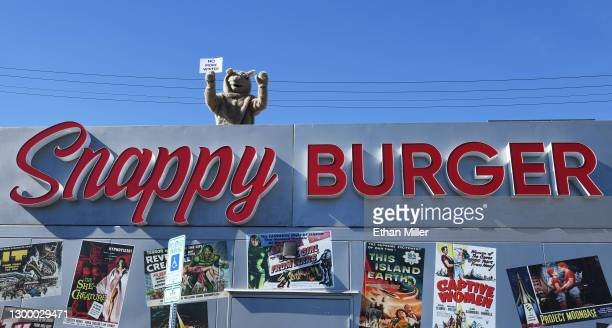 This is an image of the Snappy Burger Building
