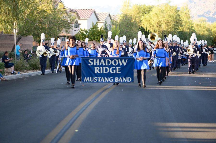 Shadow Ridge's Marching Band
