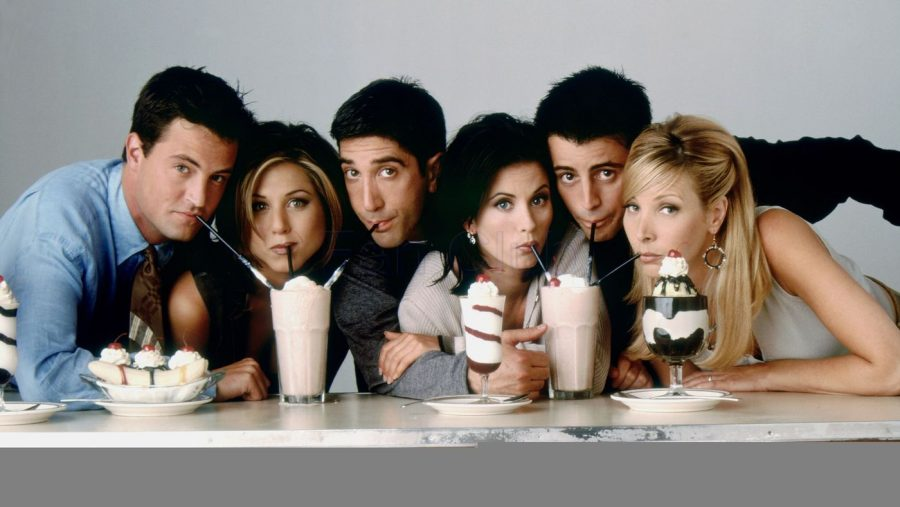 The+cast+of+Friends+reunites+16+years+after+the+premier+of+the+season+finale