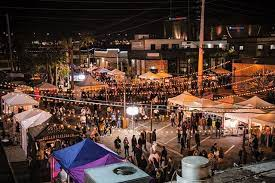 This is what a typical First Friday looks like.