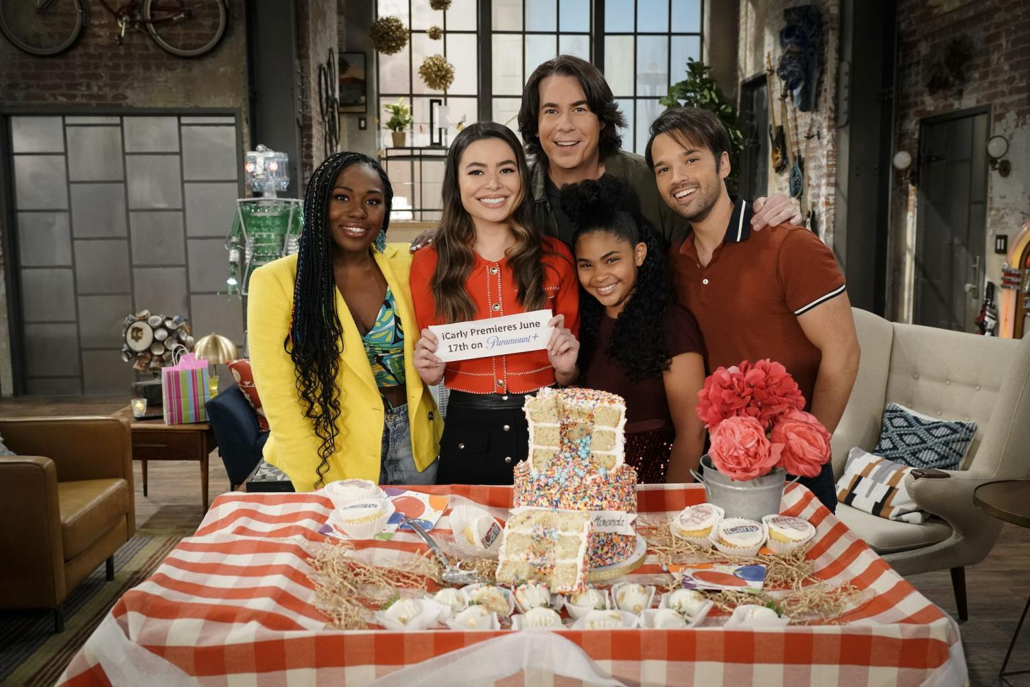 The Cast of The iCarly Reboot