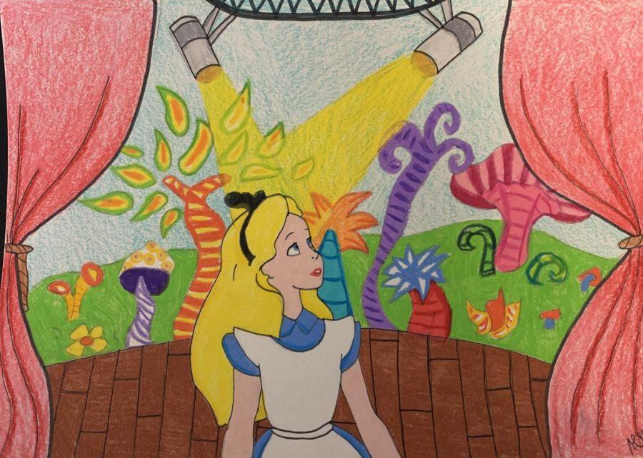 Alice in Wonderland illustrated by Audrey Davis