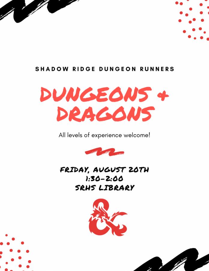 Shadow Ridge Dungeon Runners Club Meeting