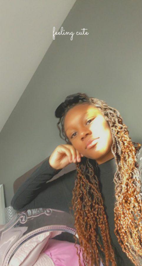 Freshman, Jayla Simmons