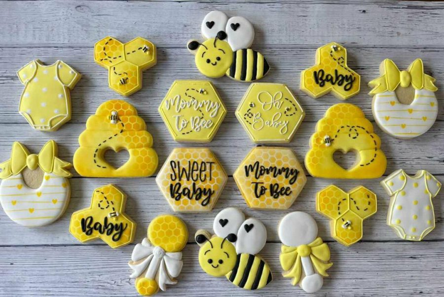 Bumble+Bee+Baby+Shower+Set