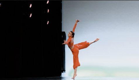 Kylee Davila showing off her amazing dancing skills.