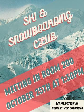 Ski and Snowboard Club Meeting