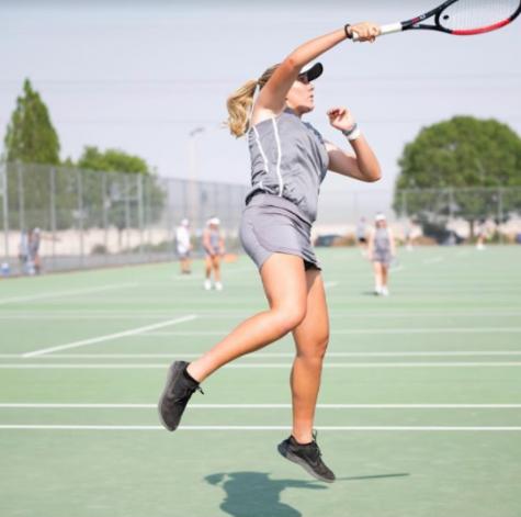 Hailey Morrow Takes the Tennis Spotlight